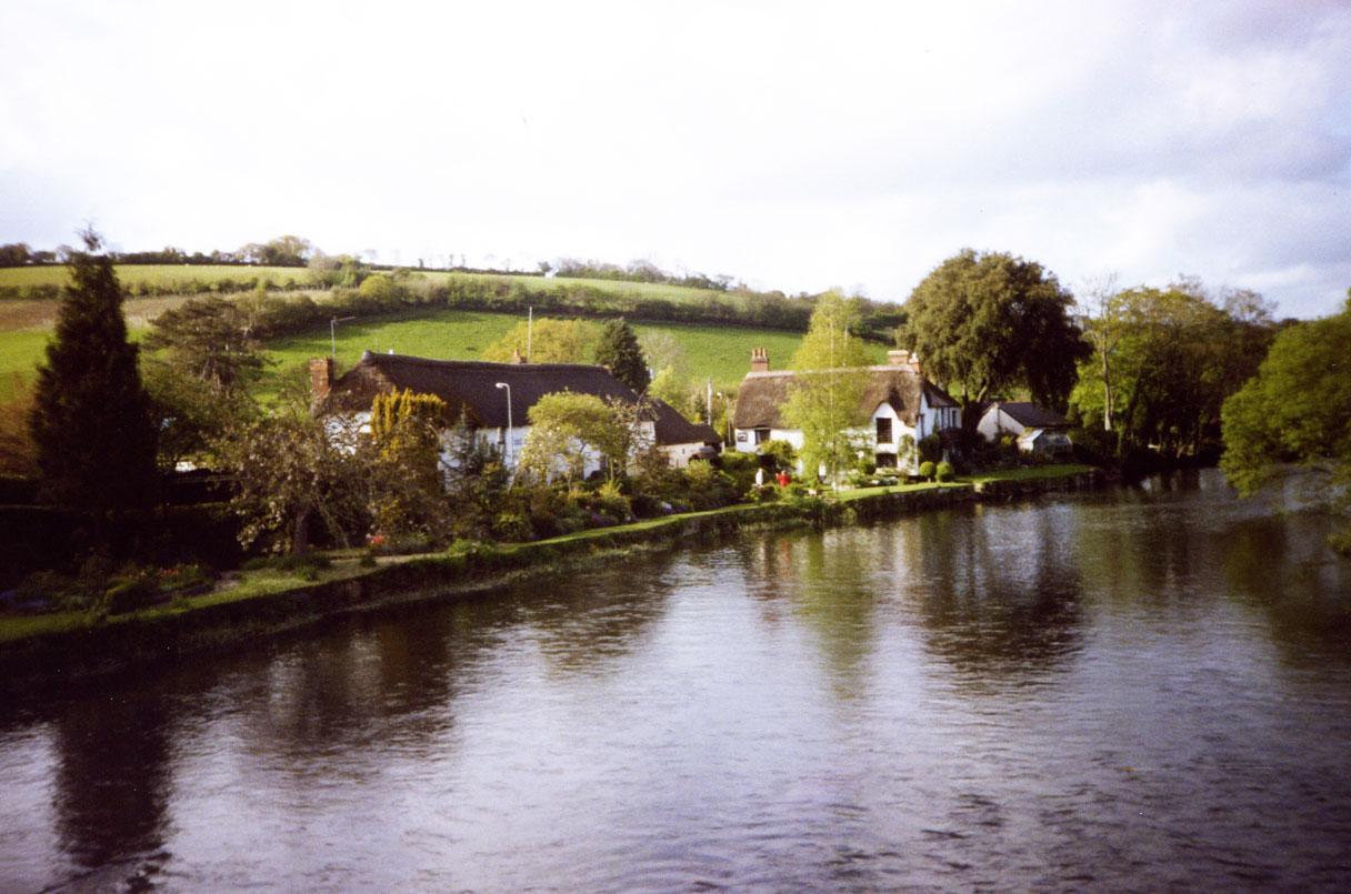 Exeter'e yakın mesafedeki Bickleigh adlı köy