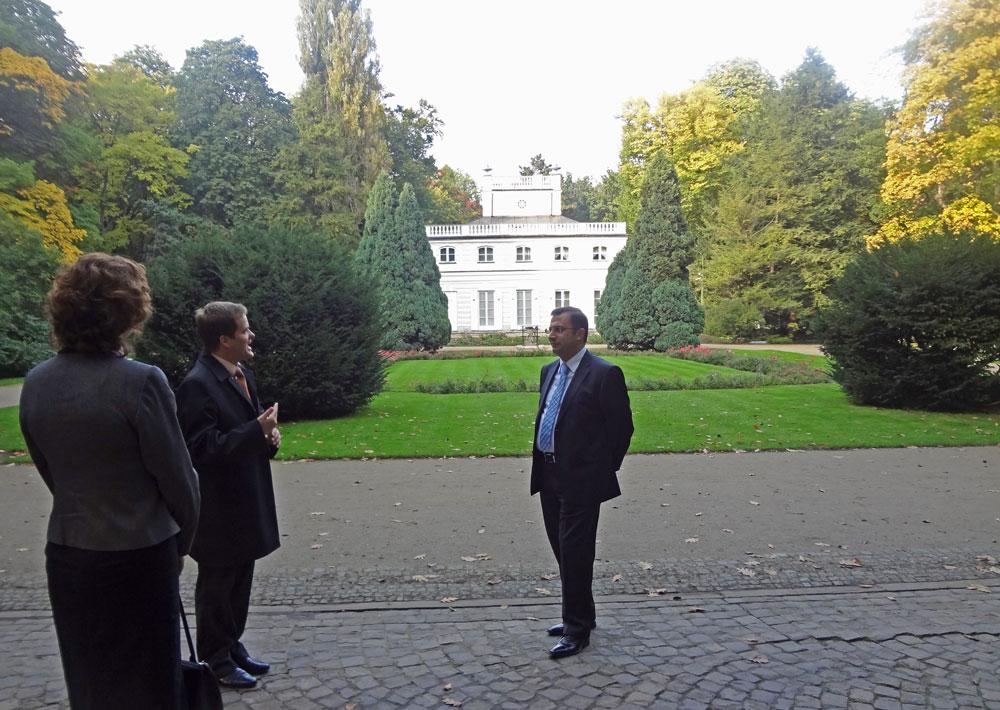 Lazienki Parkı ve Sarayı'nda