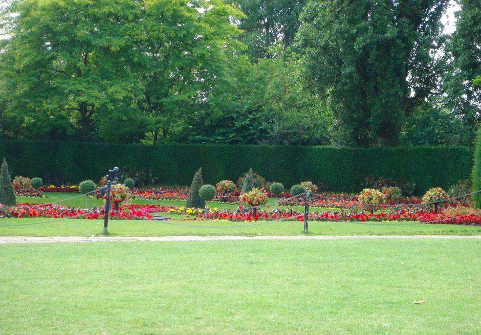 Regent's Park'ta bir köşe