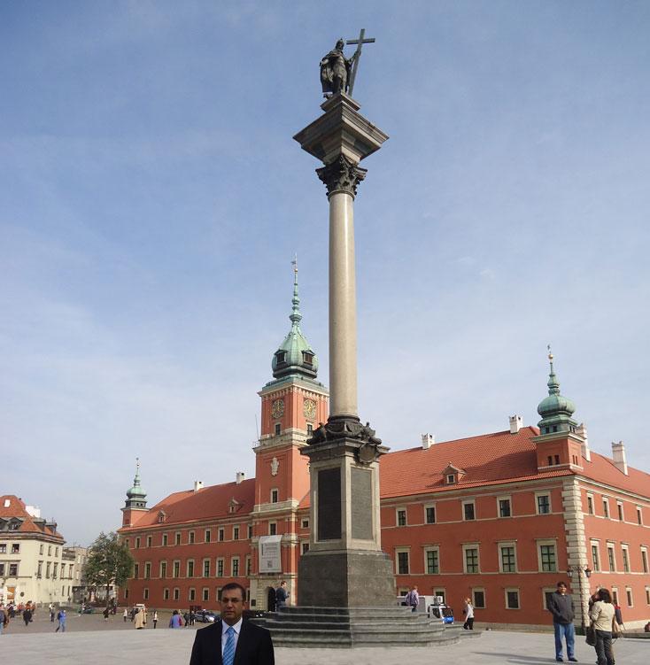 Sigismund Sütunu ve Kraliyet Sarayı