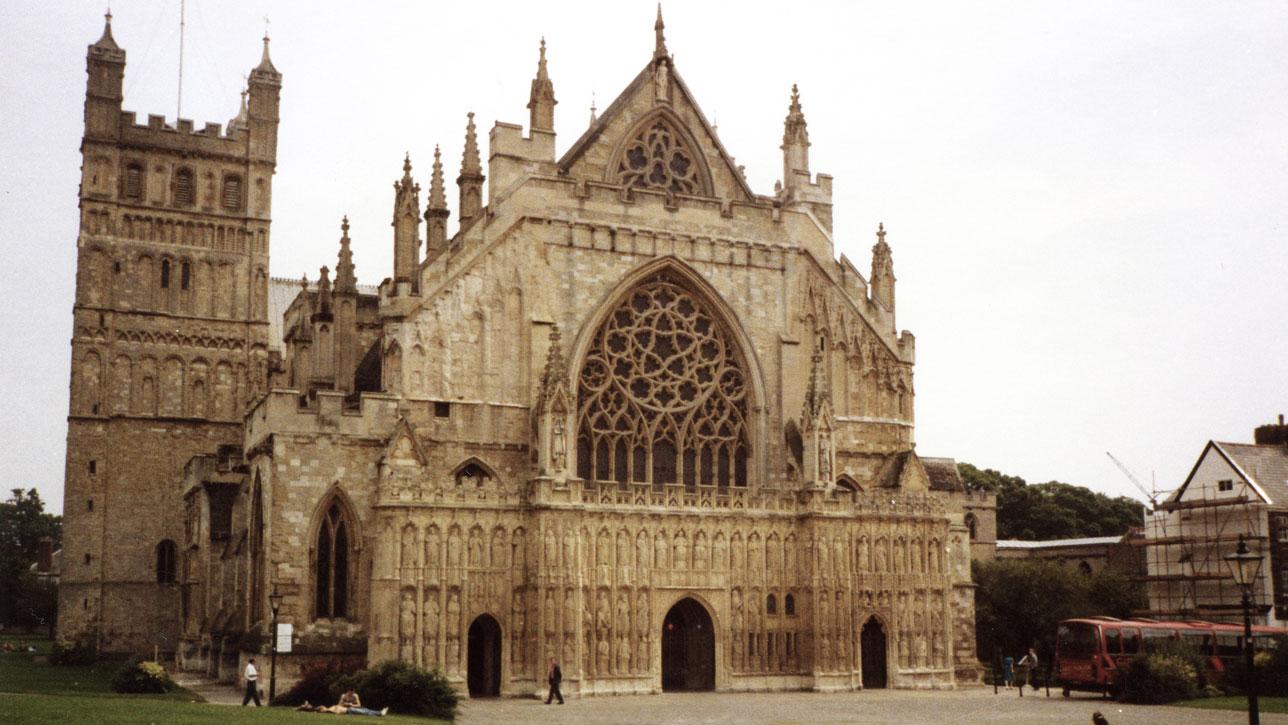 Exeter'in 900 yaşındaki Katedrali