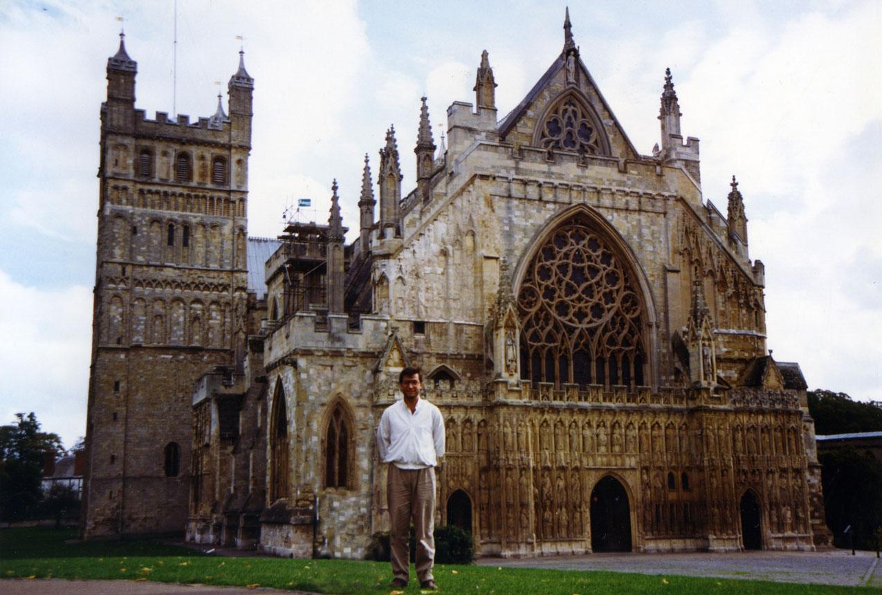 30 yıllık fotoğrafta 900 yıllık bir eser: Exeter Katedrali