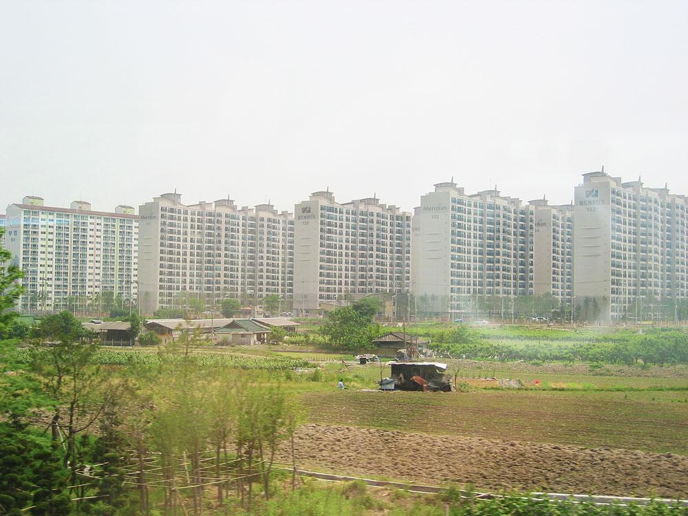Kore'deki yapılaşmanın bir örneği