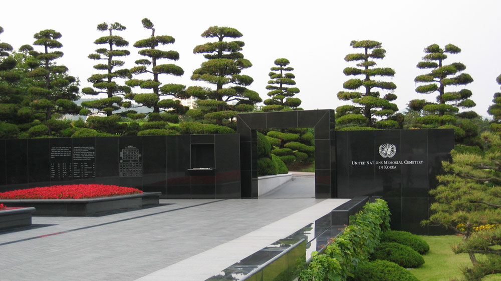 Busan'da Birleşmiş Milletler Şehitliği