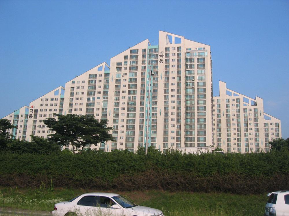 İlginç geometriye sahip bir bina...