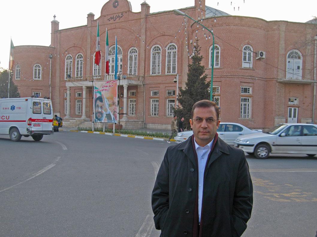 Urumiye Belediye binası