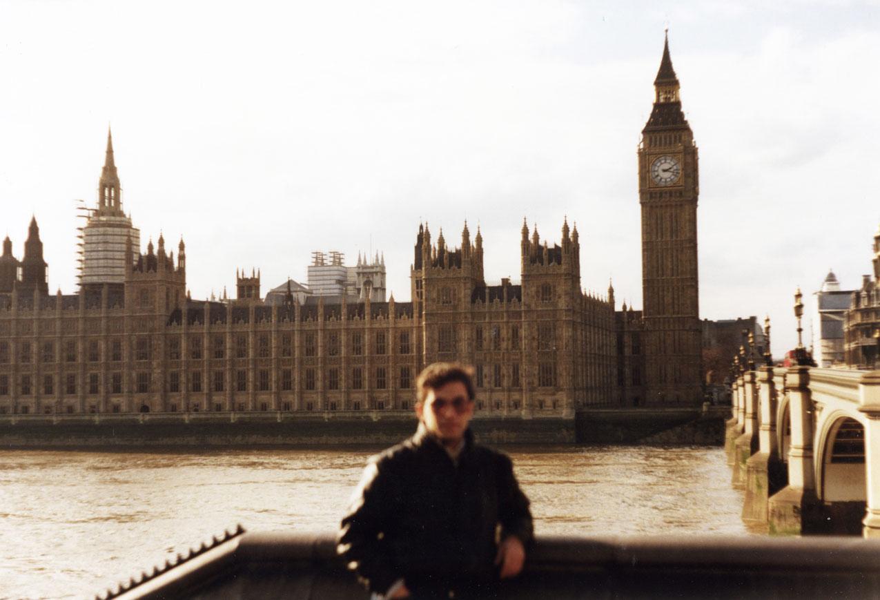 Eski günlerden bir Londra hatırası...