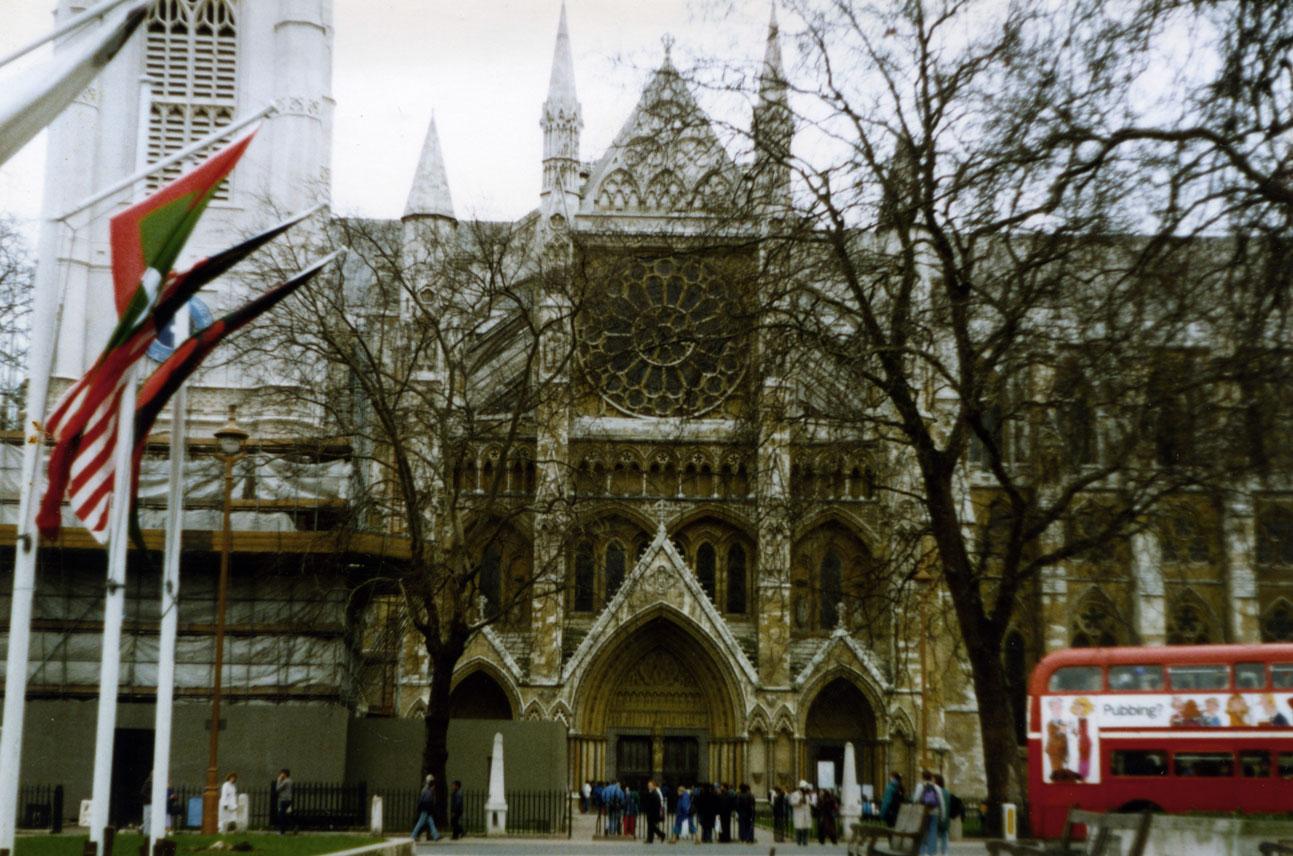 "Londra'nın ""protokol"" kilisesi Westminster Abbey"
