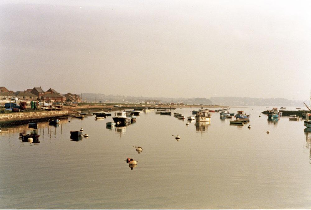 Bournemouth yakınlarında Poole Limanı