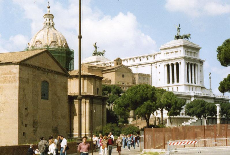 Bir başka Roma manzarası