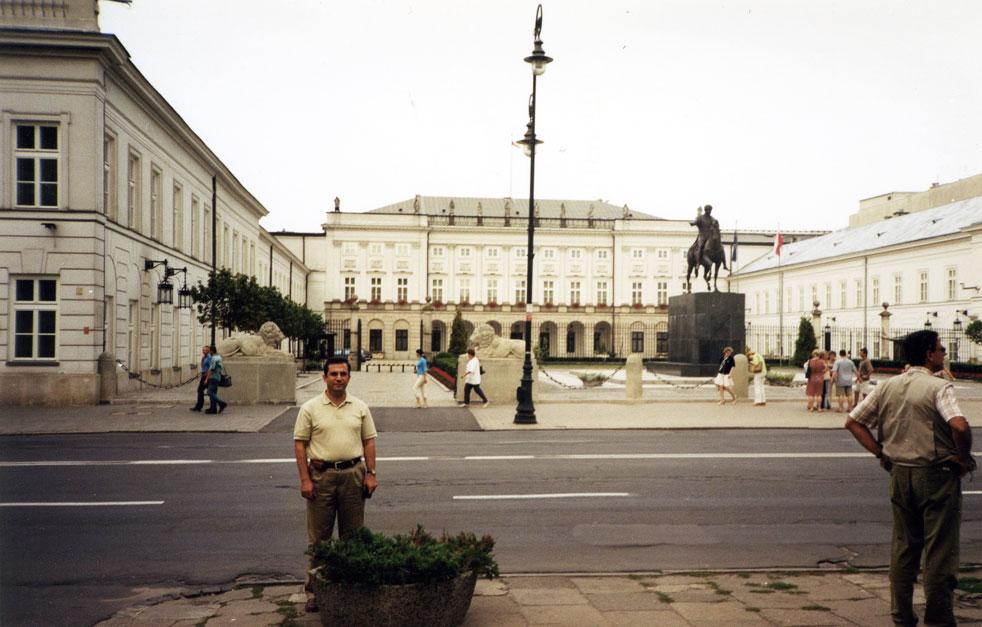 2003 yılından bir hatıra: Cumhurbaşkanlığı Sarayı