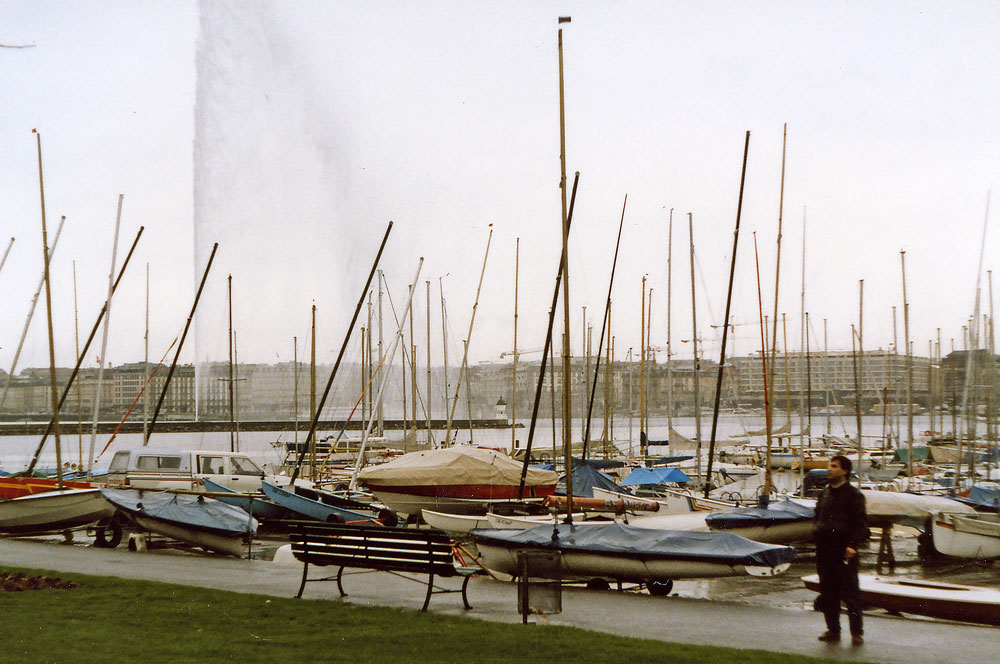 Yat Limanı ve Cenevre'nin meşhur Fıskiyesi