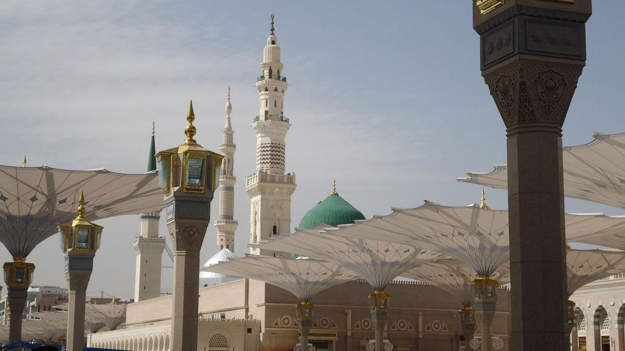 Medine'nin kalbi Peygamber Mescidi