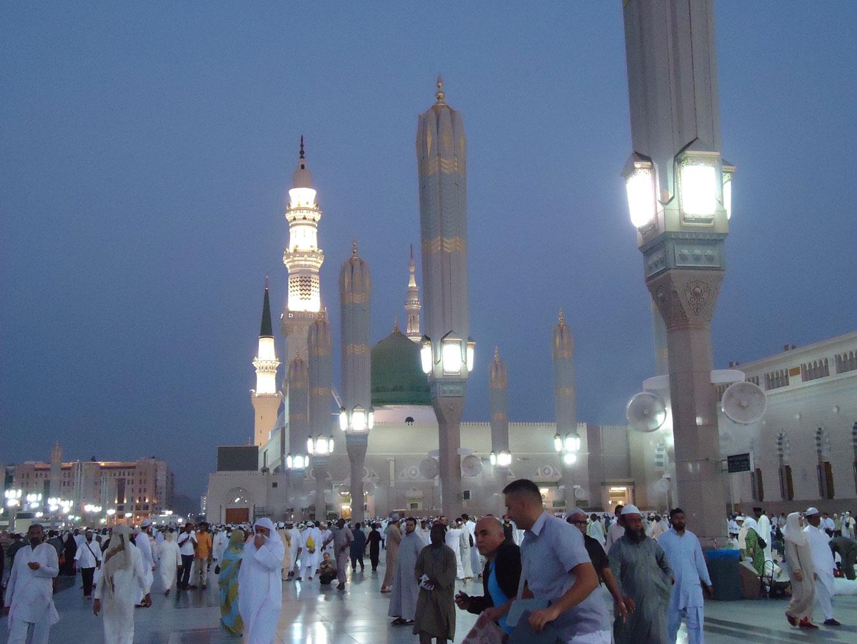 Medine'deki Peygamber Mescidi
