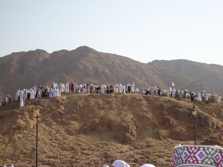 Uhud Dağı'nın Okçular Tepesi