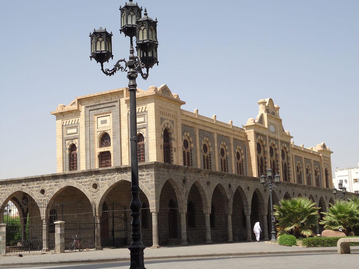 Bugün müze olarak kullanılan Hicaz Demiryolu'nun son istasyon binası