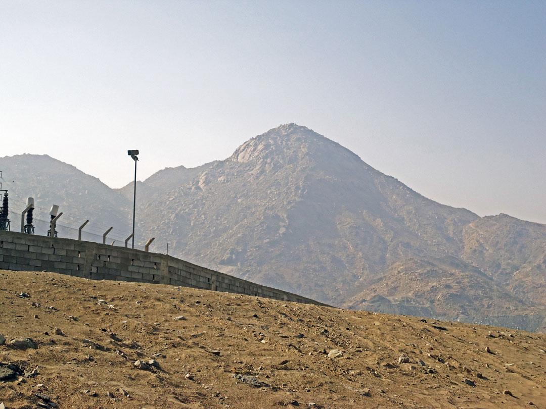 Hicret esnasında Hz. Peygamber (SAV) ve Hz. Ebu Bekir'e (RA) sığınak olan mağaranın bulunduğu Sevr Dağı