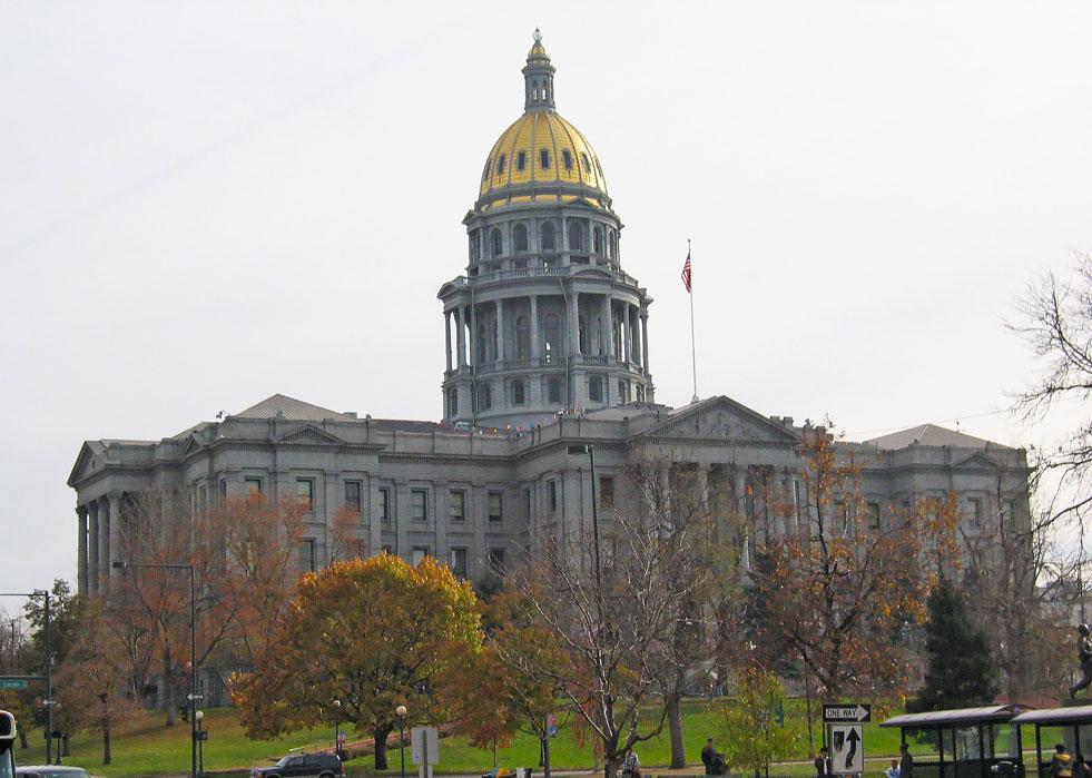Denver'da Colorado Eyaleti Yönetim Binası