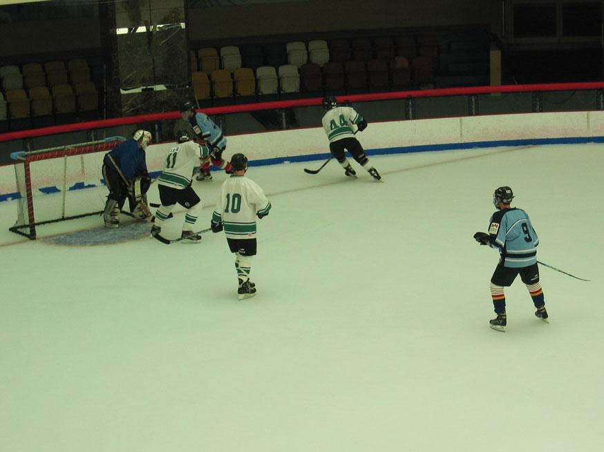 İthal sporlardan buz hokeyi