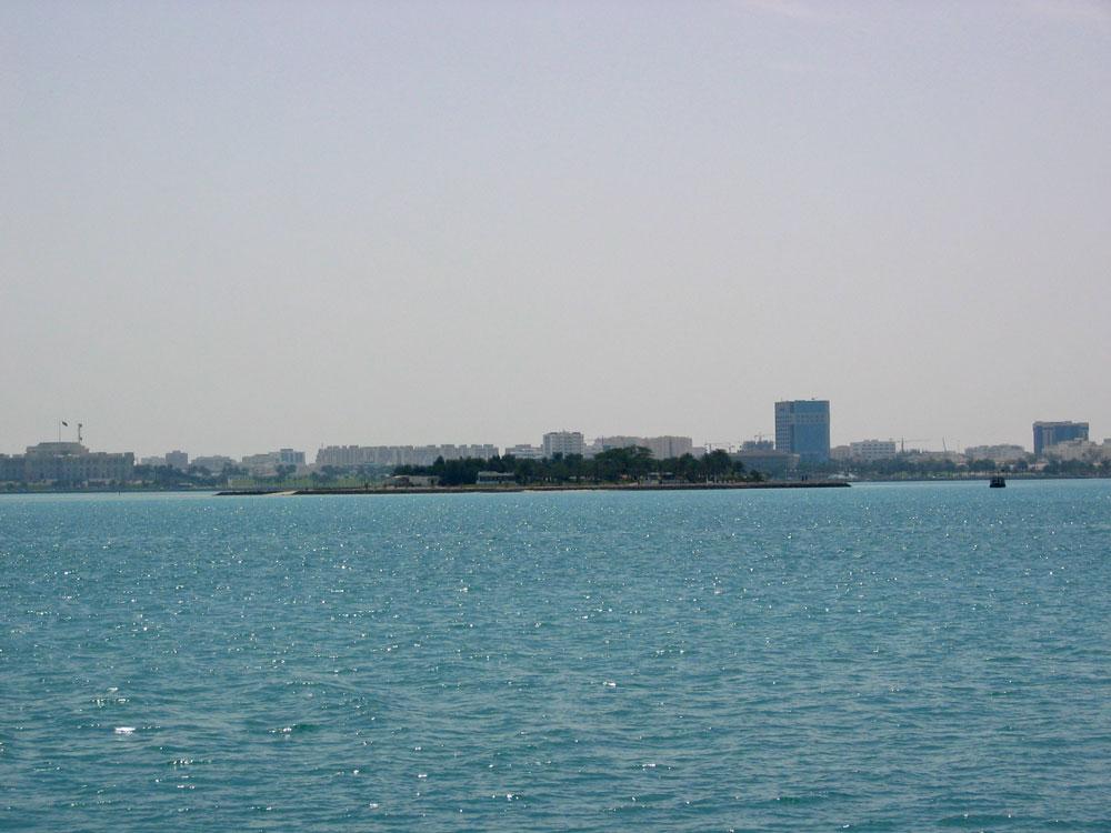 Basra Körfezi ve Doha manzarası