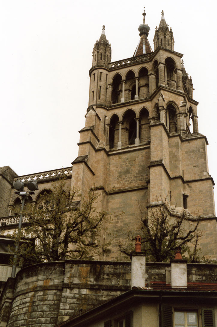 Lozan'daki Notre-Dame Katedrali