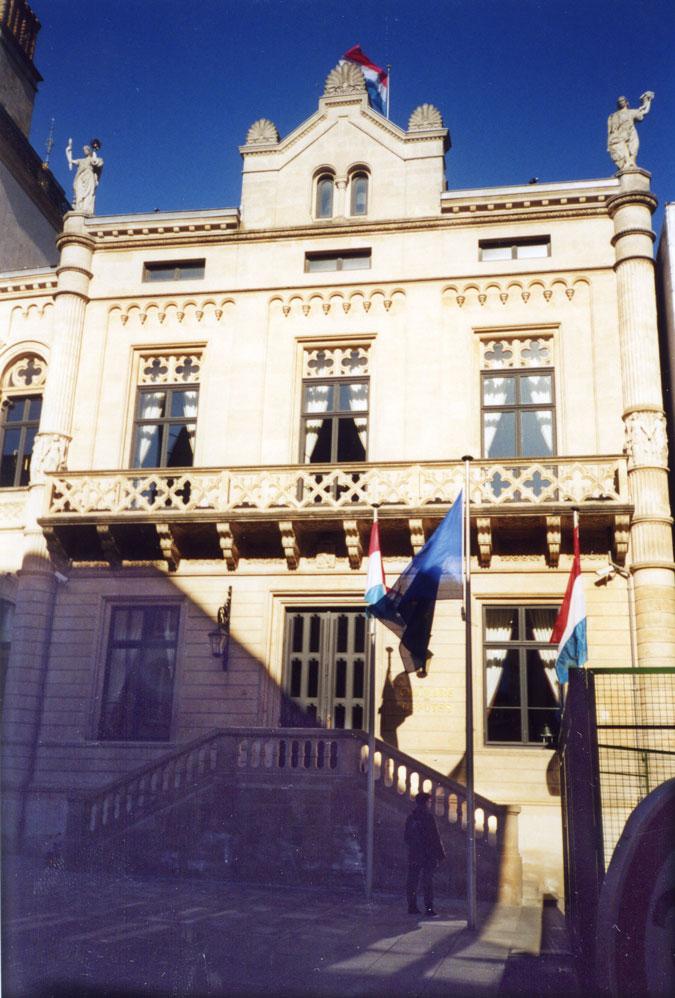 Büyük Dükalık Sarayı'nın giriş kapısı