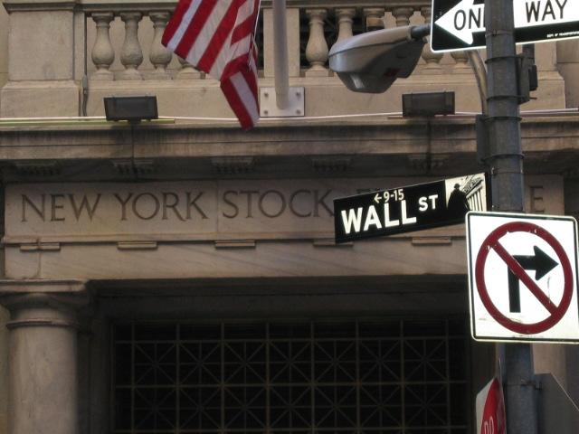 Çok meşhur Wall Street...