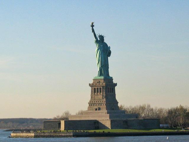New York'ta Özgürlük Heykeli