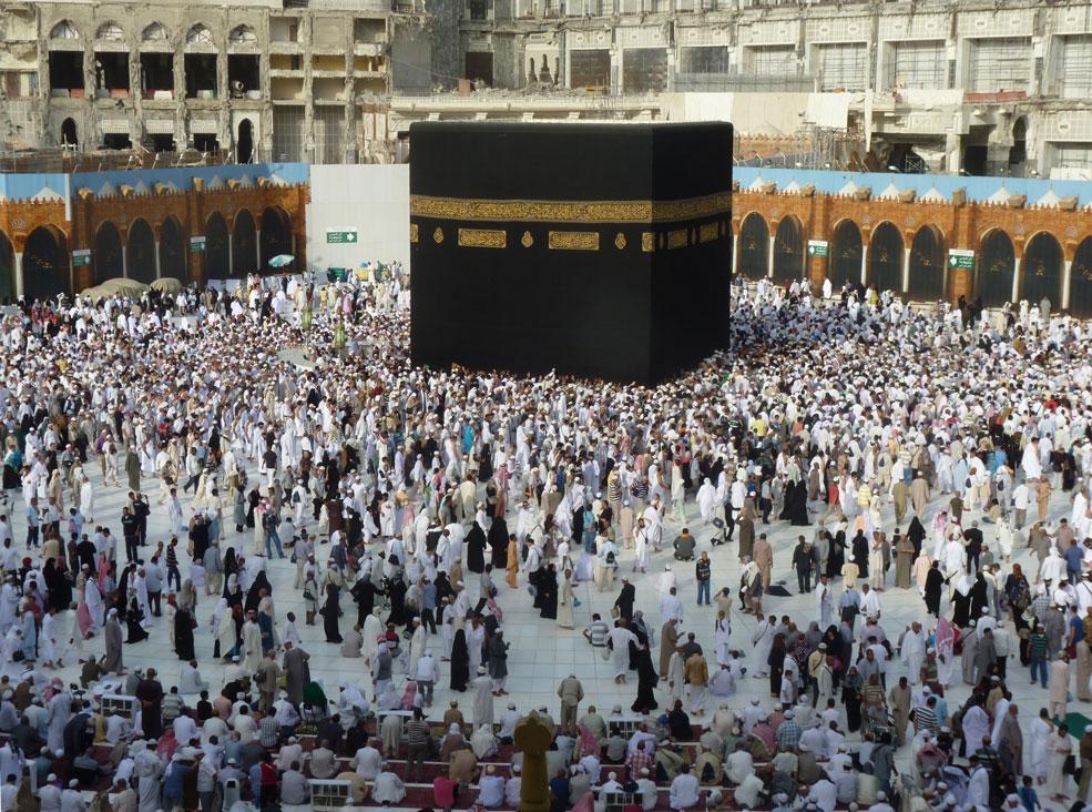 Müslümanlar için dünyanın merkezi burası...