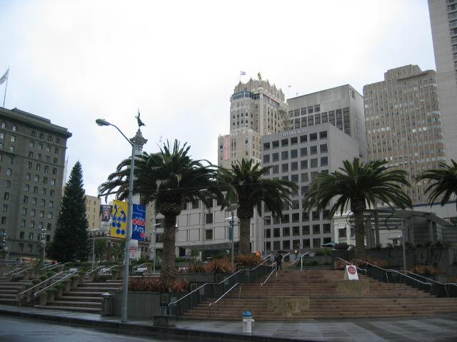San Francisco'nun Birlik Meydanı (Union Square)