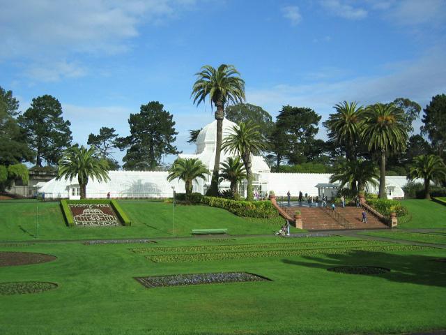 Golden Gate Parkı 5 km uzunluğunda...