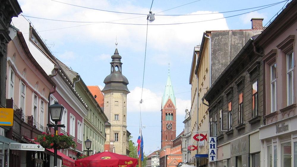 Maribor'un tarihi bölgesi
