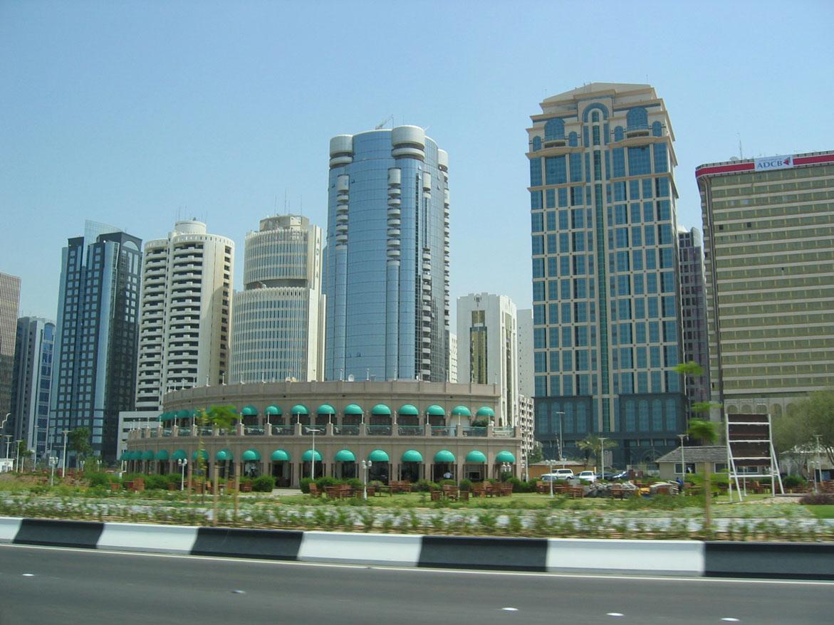 Şehir merkezlerinin tipik manzarası