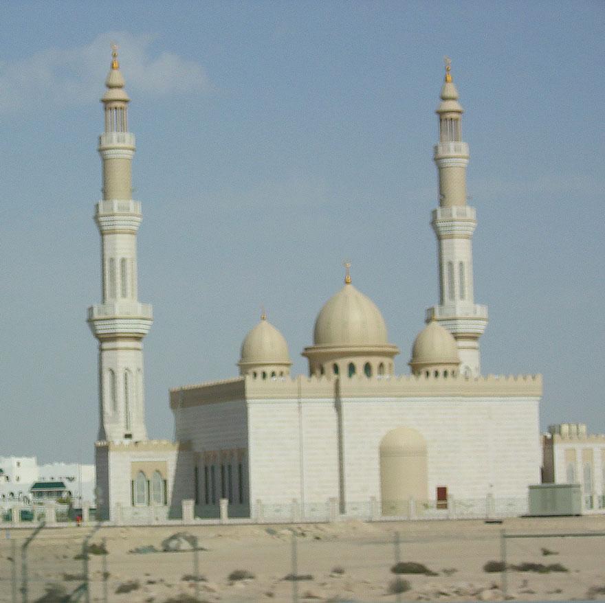 Dubai'de bir cami