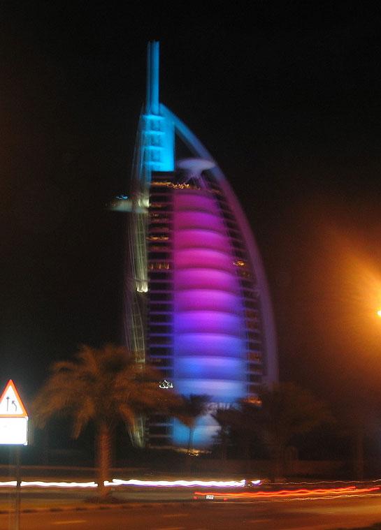Dünyanın ilk 7 yıldızlı oteli olarak ün salan Burc el-Arap (Arap Kulesi)