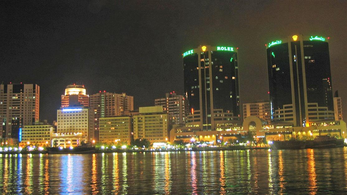 Bir Dubai gecesi...