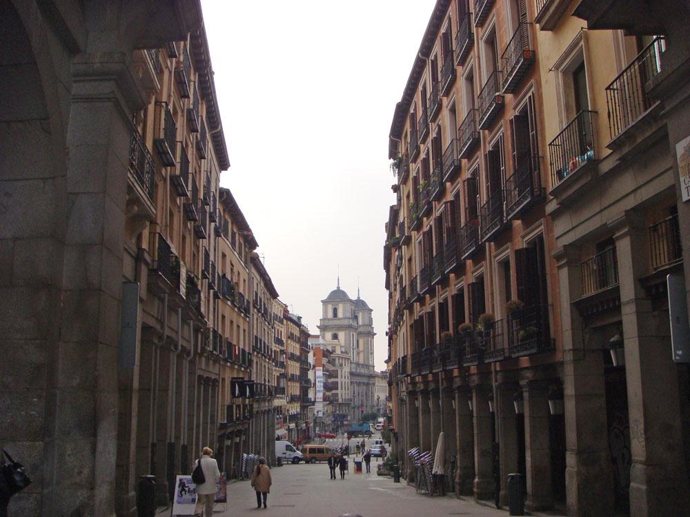 Şehrin yürümesi hoş sokaklarından biri