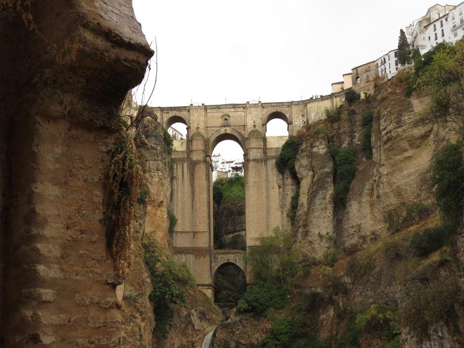 Ronda'nın sembolü Yeni Köprü