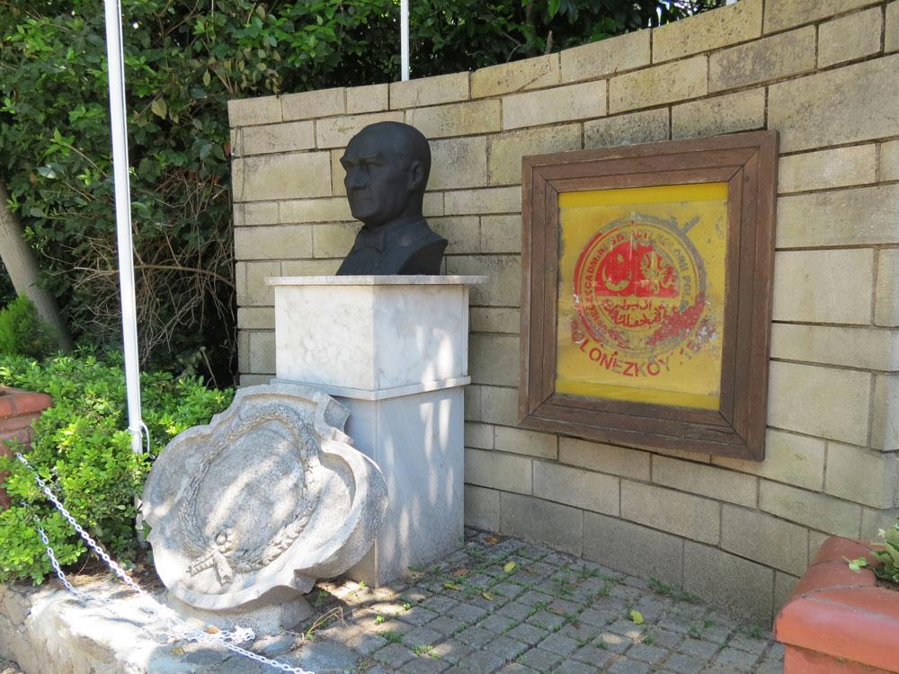 Polonezköy Meydanı'ndan bir köşe