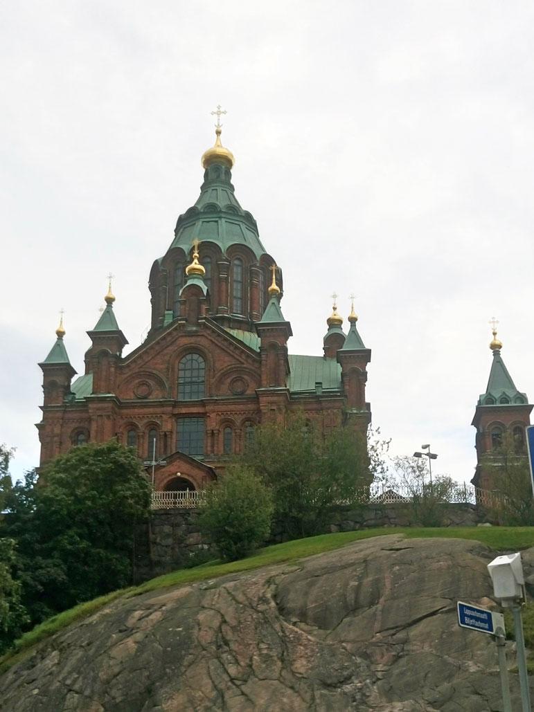 Rusya döneminden miras Uspenski Katedrali